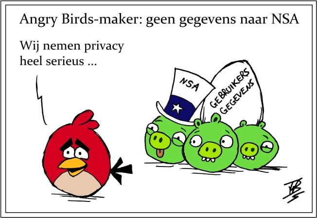 Angry 'NSA' Birds
